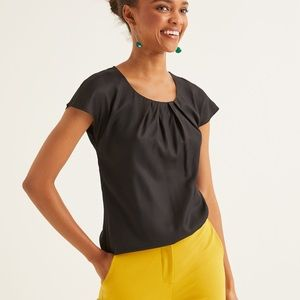Boden silk blend blouse